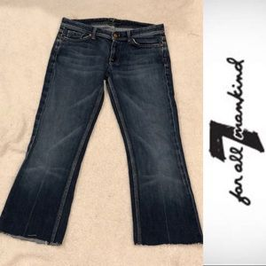 7 For All Mankind Flynt Bootcut Jeans size:30 EUC